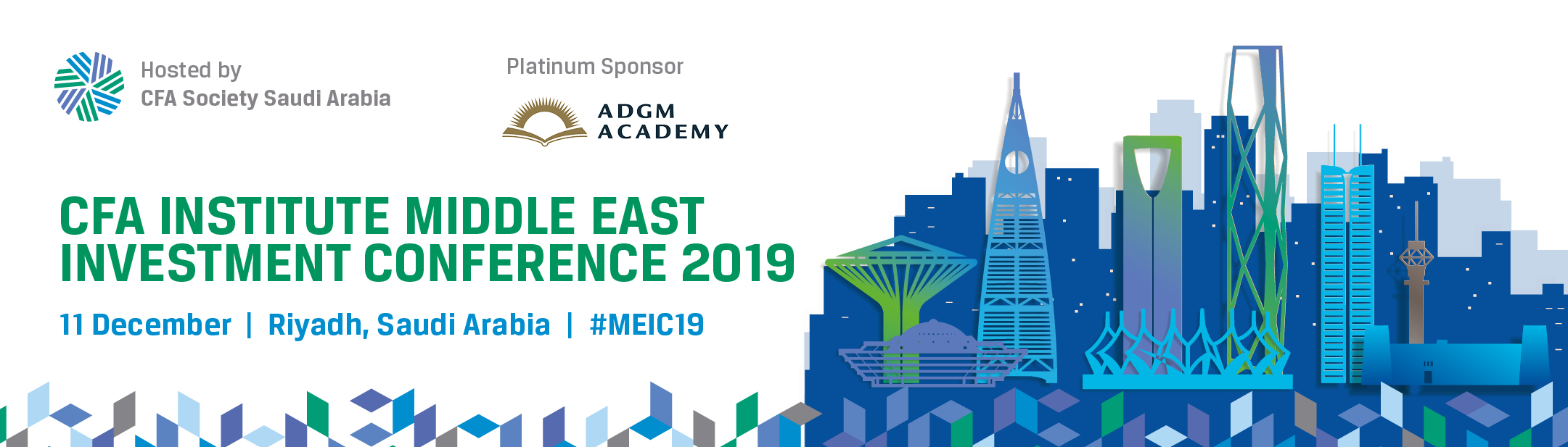 Middle East Investment Conference 2019. 11 December 2019, Riyadh, Saudi Arabia. #MEIC19
